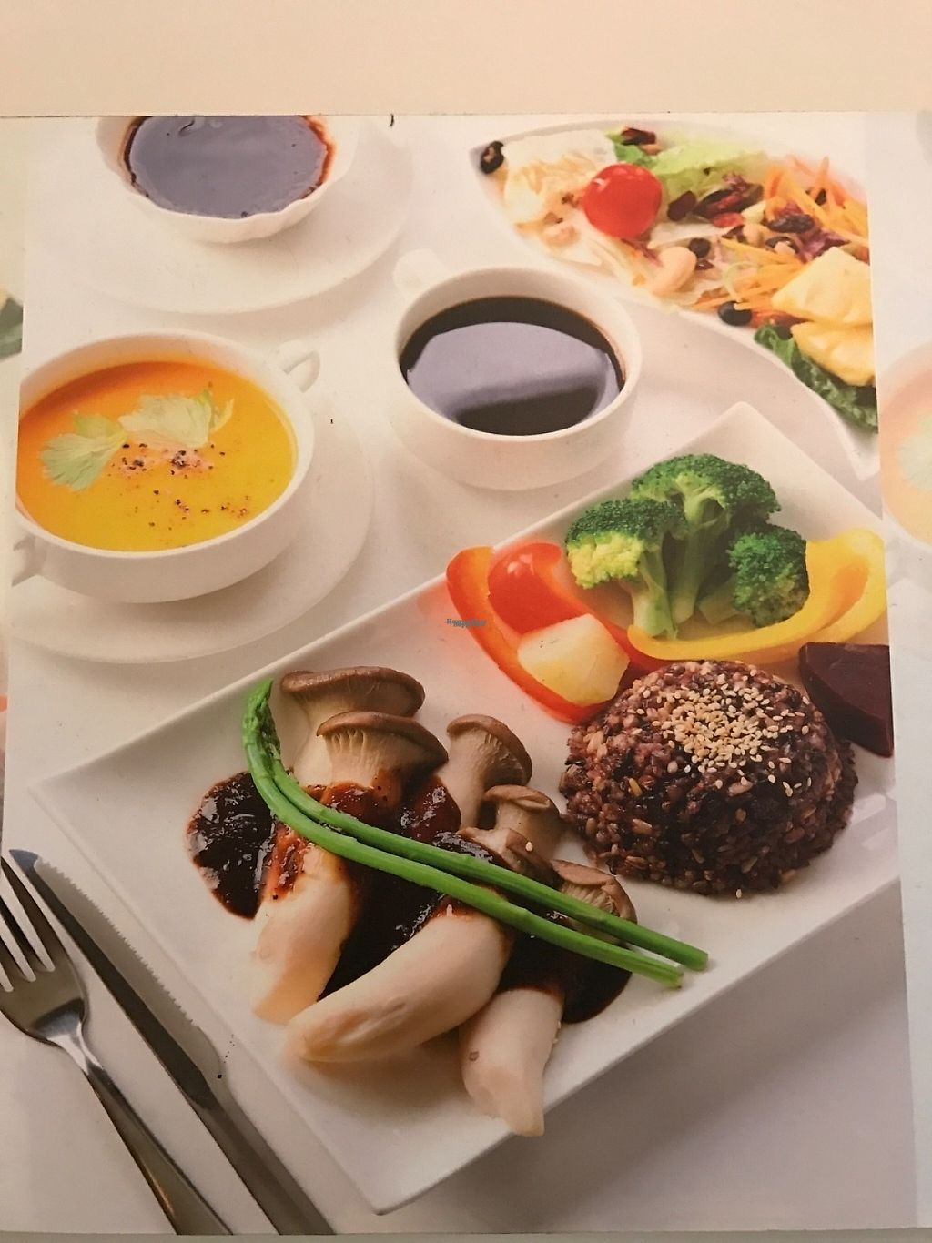 """Photo of Sunshinetomato  by <a href=""""/members/profile/Integrativelife"""">Integrativelife</a> <br/>Mushrooms with delicios home made sauce set menu <br/> March 24, 2017  - <a href='/contact/abuse/image/89199/240357'>Report</a>"""