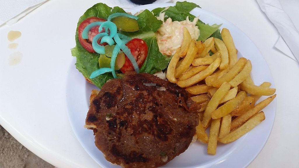 "Photo of Fantasy Dining  by <a href=""/members/profile/EinavBen-gal"">EinavBen-gal</a> <br/>Veggie burger <br/> March 25, 2017  - <a href='/contact/abuse/image/89225/240426'>Report</a>"