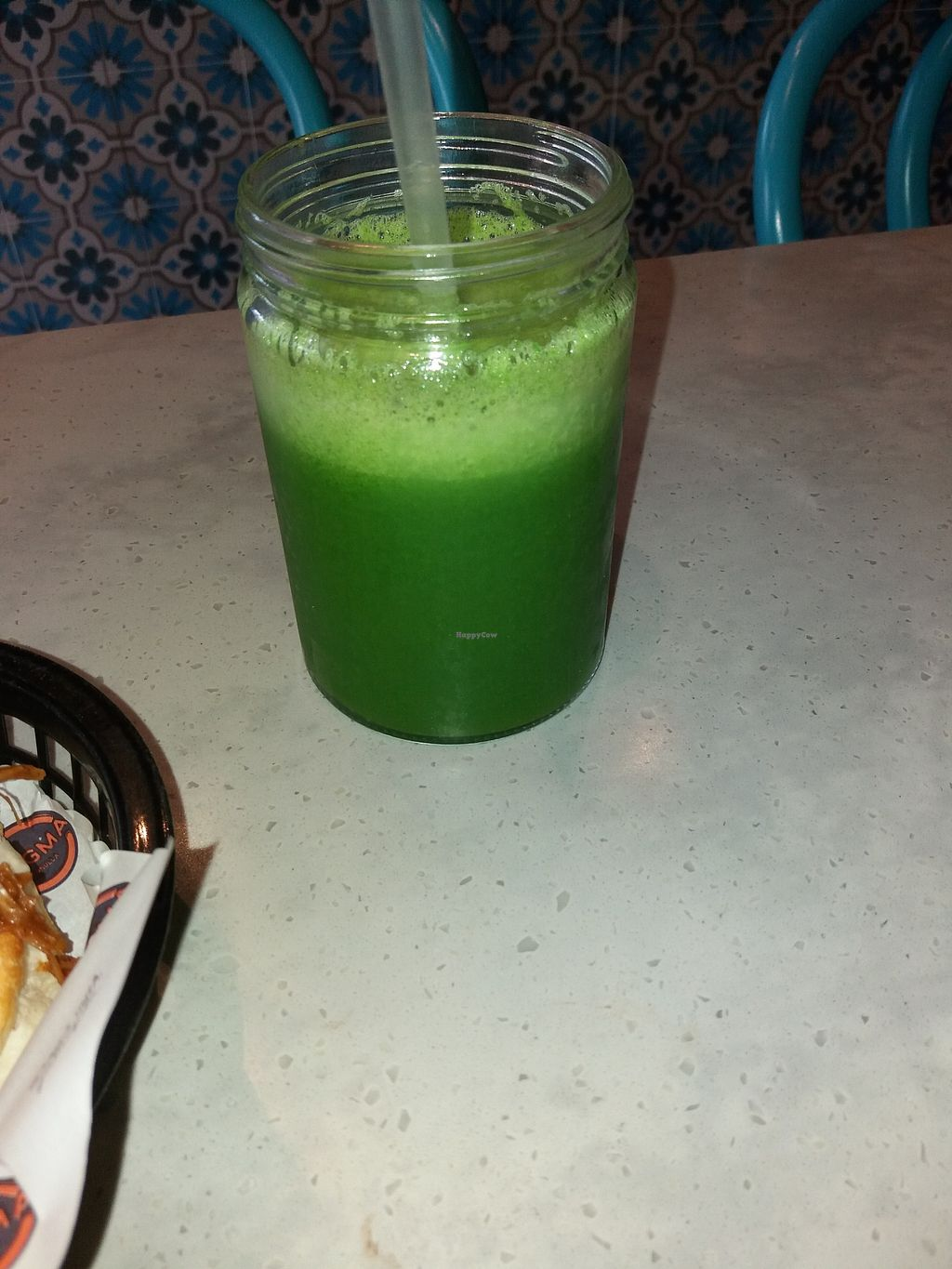 """Photo of Dogma Cronulla  by <a href=""""/members/profile/veganvirtues"""">veganvirtues</a> <br/>Apple, kale and ginger juice <br/> February 19, 2018  - <a href='/contact/abuse/image/89226/361126'>Report</a>"""