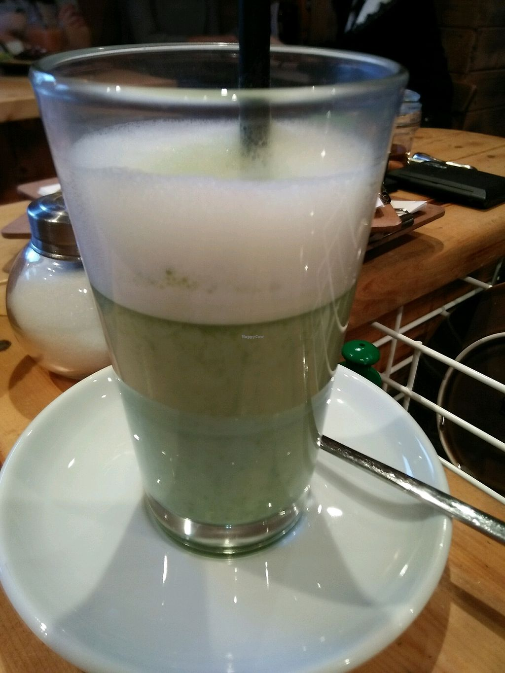 """Photo of Green Leaf Cafe  by <a href=""""/members/profile/MichaelGreen"""">MichaelGreen</a> <br/>Macha Latte  <br/> March 11, 2018  - <a href='/contact/abuse/image/89234/369359'>Report</a>"""
