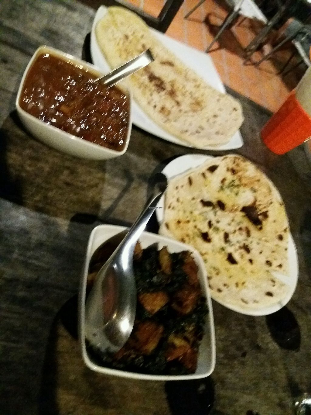 "Photo of Cafe 2401  by <a href=""/members/profile/KarinS"">KarinS</a> <br/>2 different dishes and naan <br/> December 17, 2017  - <a href='/contact/abuse/image/89235/336504'>Report</a>"