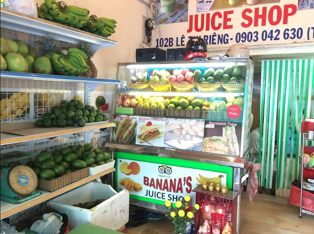 "Photo of Banana's Juice Shop  by <a href=""/members/profile/community5"">community5</a> <br/>Banana's Juice Shop <br/> March 25, 2017  - <a href='/contact/abuse/image/89236/240775'>Report</a>"