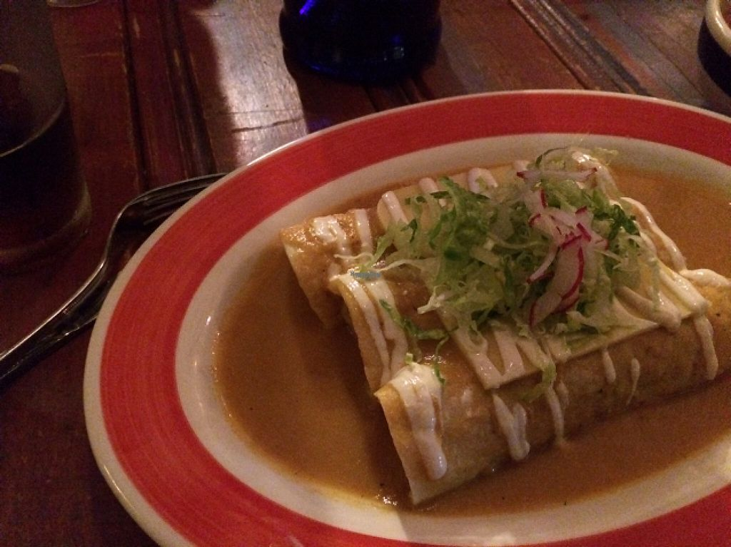 """Photo of Citrico  by <a href=""""/members/profile/User"""">User</a> <br/>spinach and squash flower enchiladas. Yum! <br/> April 4, 2017  - <a href='/contact/abuse/image/89257/244810'>Report</a>"""