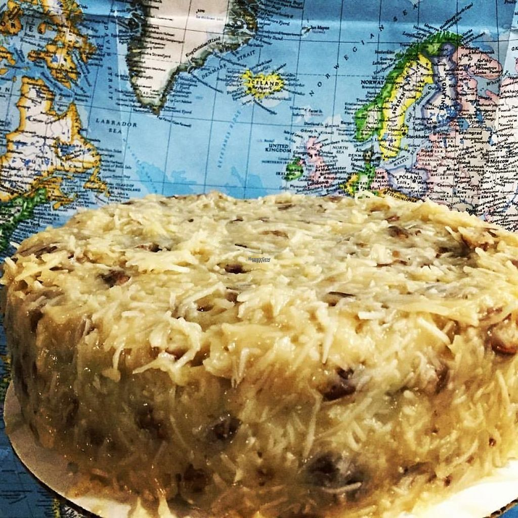 """Photo of Laughing Dog Kitchen  by <a href=""""/members/profile/asecretcheri2"""">asecretcheri2</a> <br/>Special order German chocolate cake <br/> March 25, 2017  - <a href='/contact/abuse/image/89264/240857'>Report</a>"""