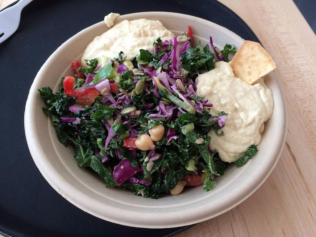 "Photo of Greenbeat  by <a href=""/members/profile/triathletejack"">triathletejack</a> <br/>Kale Hummus salad <br/> March 29, 2017  - <a href='/contact/abuse/image/89266/242428'>Report</a>"