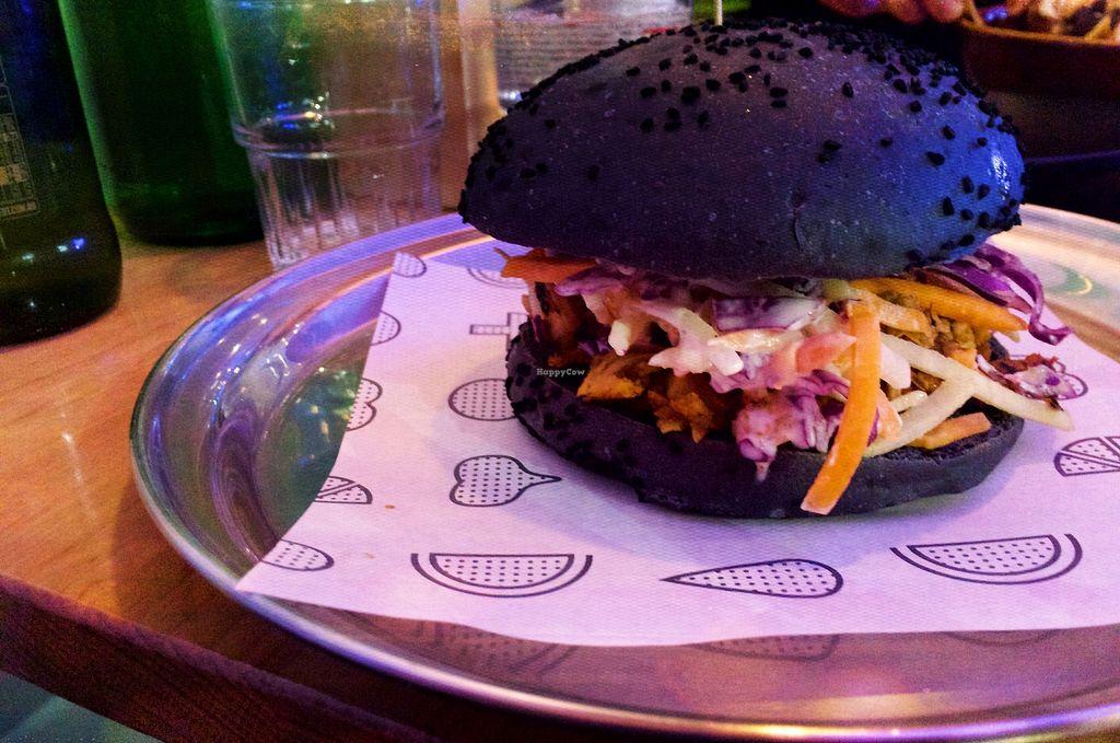 "Photo of Veg Bar  by <a href=""/members/profile/TamaraNadine"">TamaraNadine</a> <br/>Vegan burger <br/> July 9, 2017  - <a href='/contact/abuse/image/89286/278132'>Report</a>"