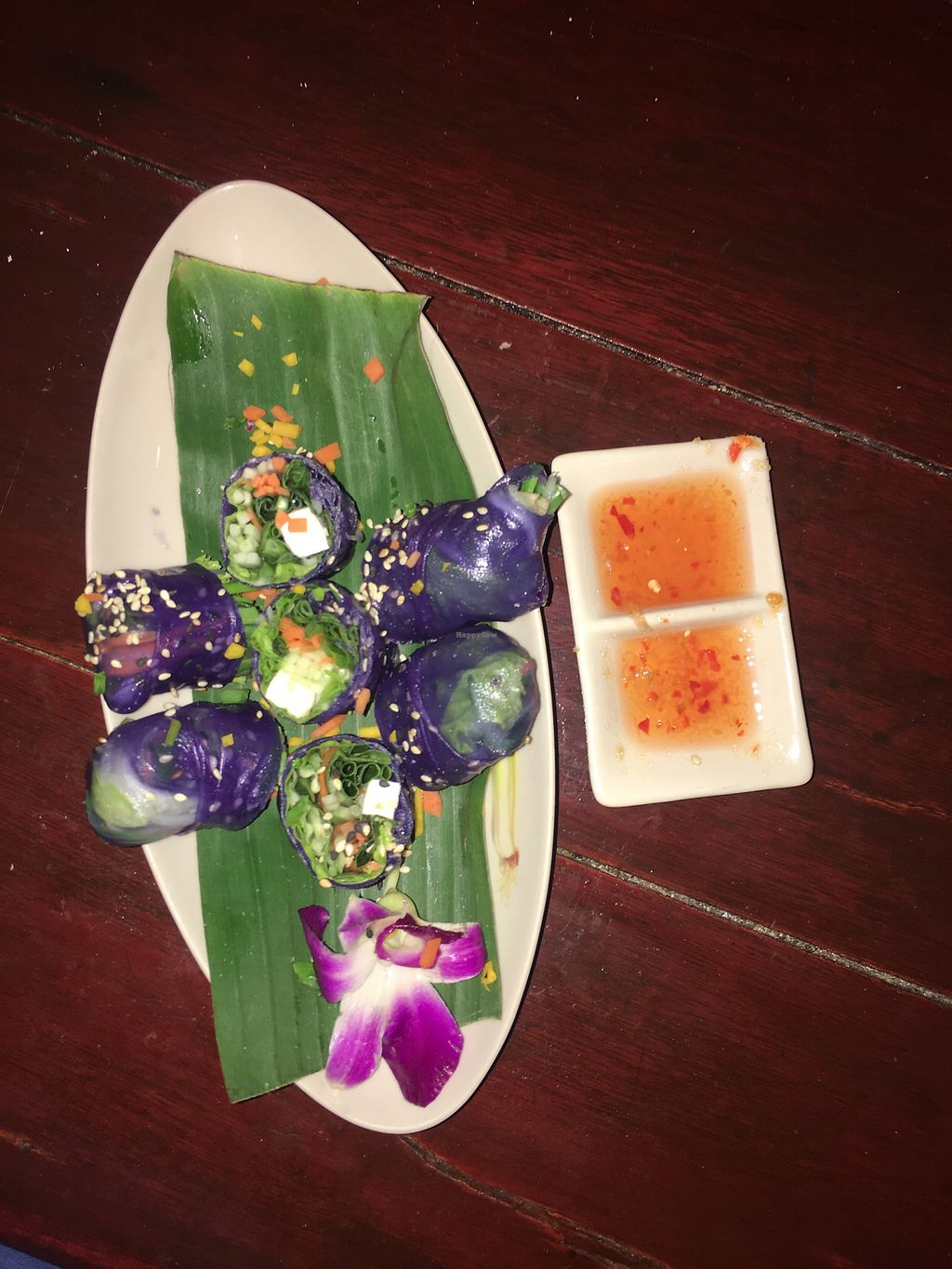 """Photo of Blue Lagoon  by <a href=""""/members/profile/VeraP.V."""">VeraP.V.</a> <br/>Best fresh spring rolls with tofu! No noodless, only vegetable and tofu, great! <br/> January 3, 2018  - <a href='/contact/abuse/image/89292/342611'>Report</a>"""