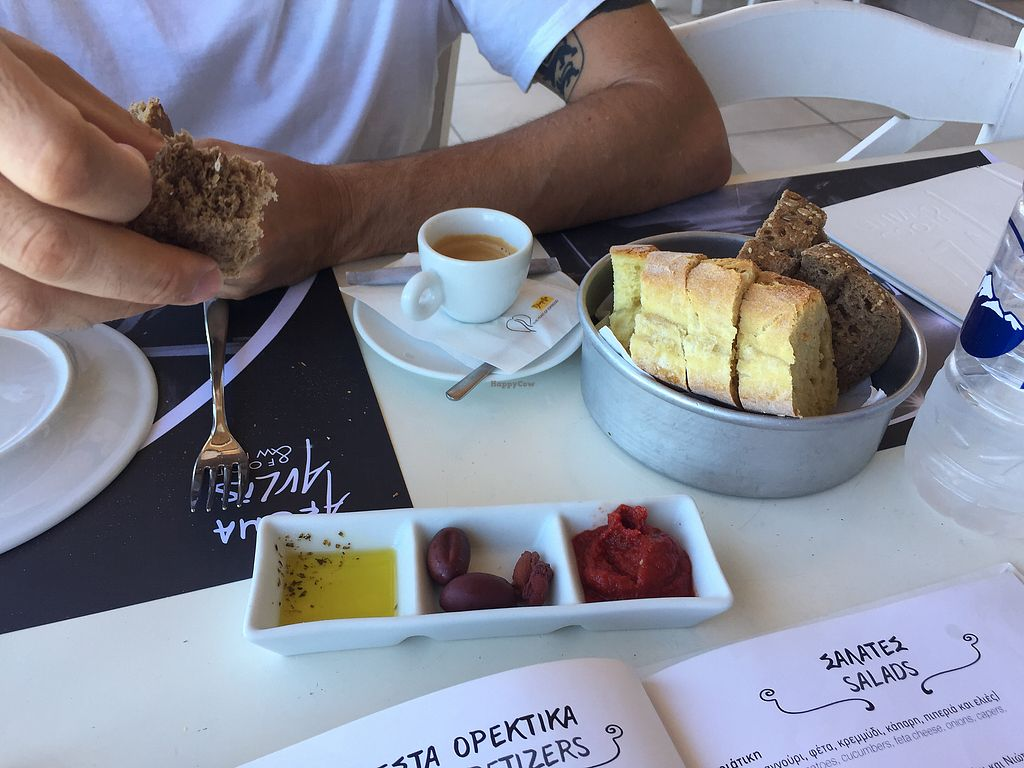"""Photo of Aroma Avlis  by <a href=""""/members/profile/indylille"""">indylille</a> <br/>Yummy dips  <br/> September 19, 2017  - <a href='/contact/abuse/image/89325/305926'>Report</a>"""