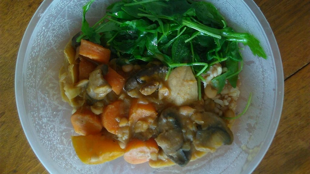 """Photo of Le Stand  by <a href=""""/members/profile/TrevorS"""">TrevorS</a> <br/>Takeaway cassoulet <br/> November 19, 2017  - <a href='/contact/abuse/image/89327/327001'>Report</a>"""