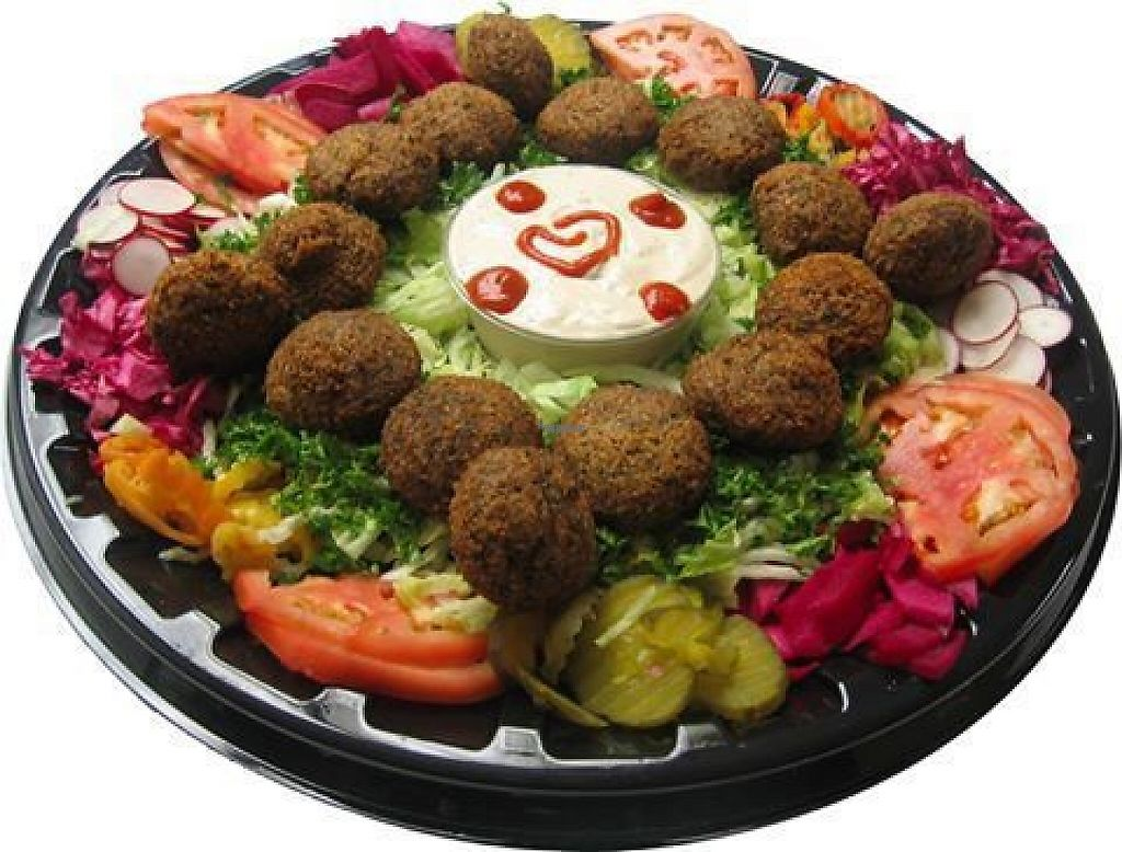 "Photo of Revillo's Shawarma Stop  by <a href=""/members/profile/community5"">community5</a> <br/>Falafel platter <br/> March 27, 2017  - <a href='/contact/abuse/image/89339/241699'>Report</a>"