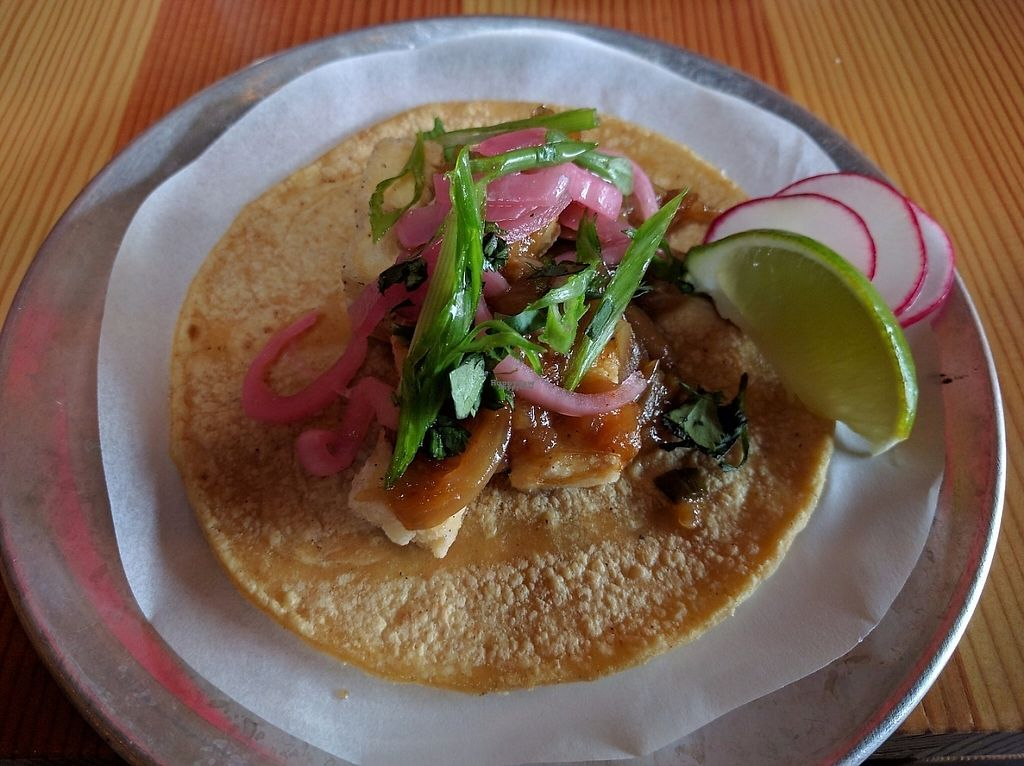 "Photo of Trejo's Cantina  by <a href=""/members/profile/Sonja%20and%20Dirk"">Sonja and Dirk</a> <br/>black pepper tofu taco <br/> March 28, 2017  - <a href='/contact/abuse/image/89372/241962'>Report</a>"