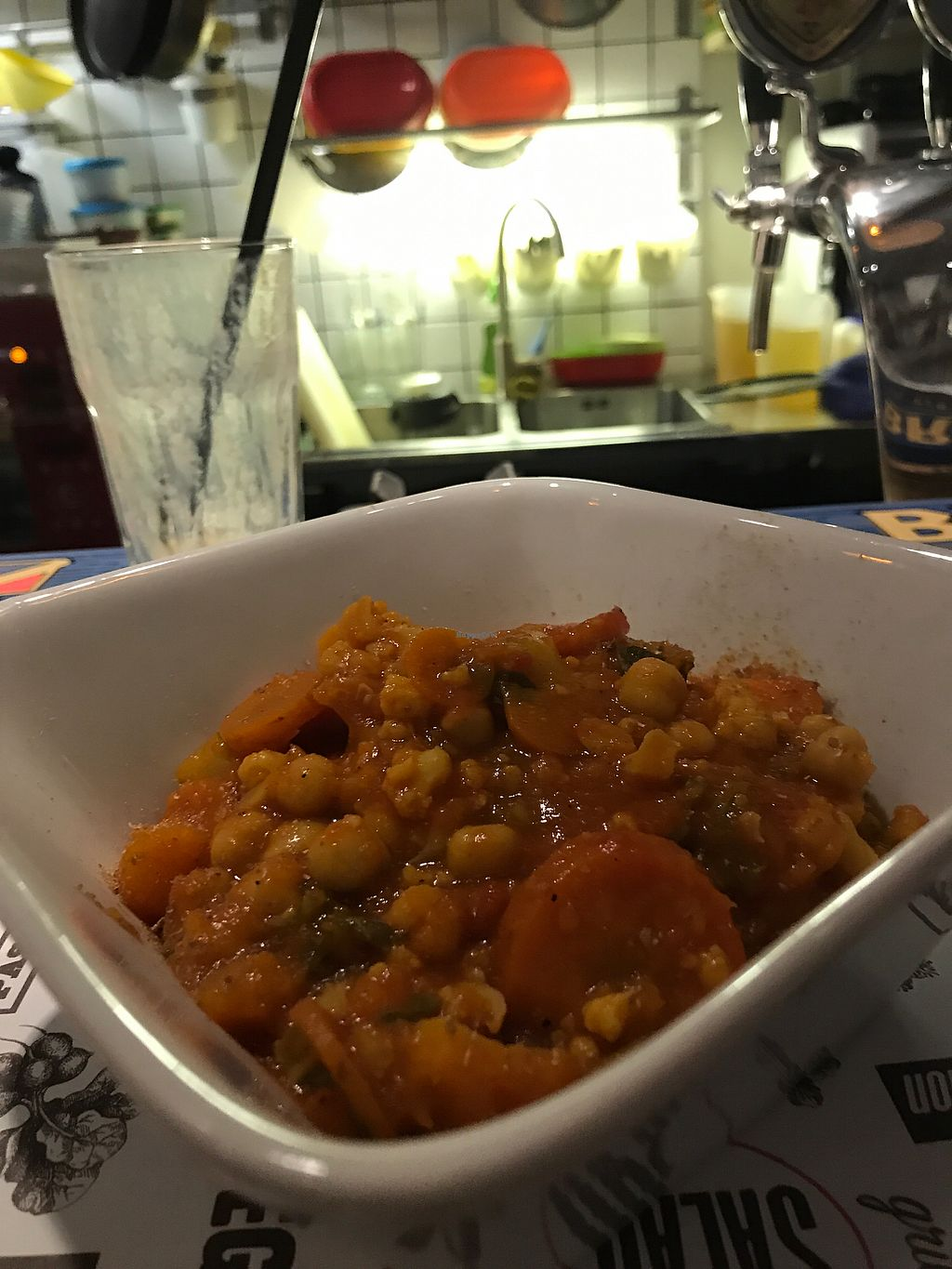 """Photo of Marta's Veggie Fusion  by <a href=""""/members/profile/candybaaby"""">candybaaby</a> <br/>Chickpea stew with brown rice <br/> September 19, 2017  - <a href='/contact/abuse/image/89393/305949'>Report</a>"""
