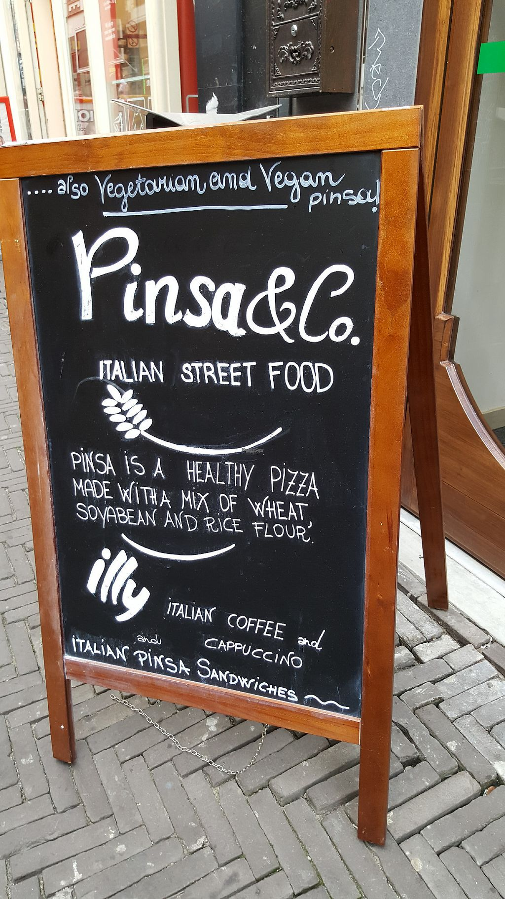 """Photo of Pinsa & Co  by <a href=""""/members/profile/AlanDrummer"""">AlanDrummer</a> <br/>Vegan Base tasty <br/> April 6, 2017  - <a href='/contact/abuse/image/89399/245276'>Report</a>"""