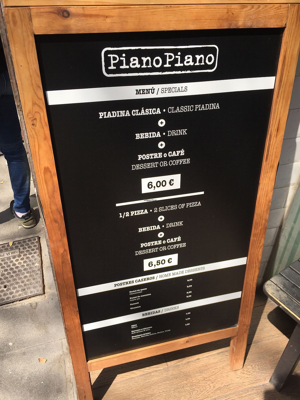 """Photo of Piano Piano  by <a href=""""/members/profile/Jameskille"""">Jameskille</a> <br/>Daily menu  <br/> April 20, 2018  - <a href='/contact/abuse/image/89400/388532'>Report</a>"""
