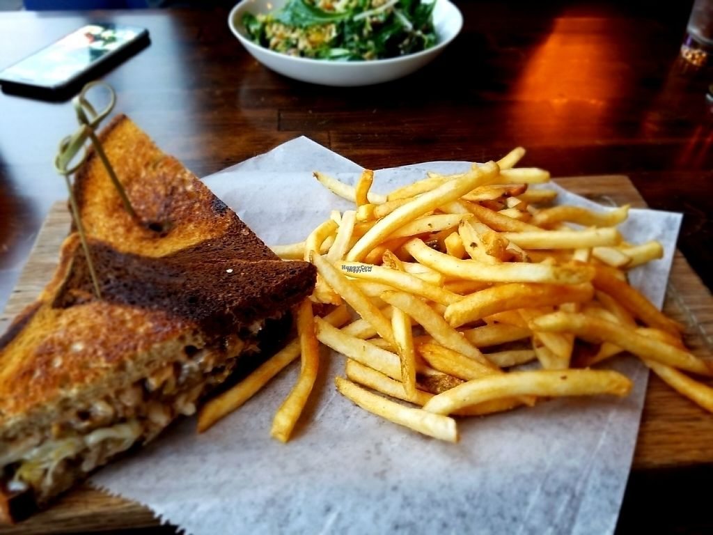 "Photo of Hadley's  by <a href=""/members/profile/Silly%20Little%20Vegan"">Silly Little Vegan</a> <br/>Tempeh Ruben & Fries <br/> March 28, 2017  - <a href='/contact/abuse/image/89411/242122'>Report</a>"
