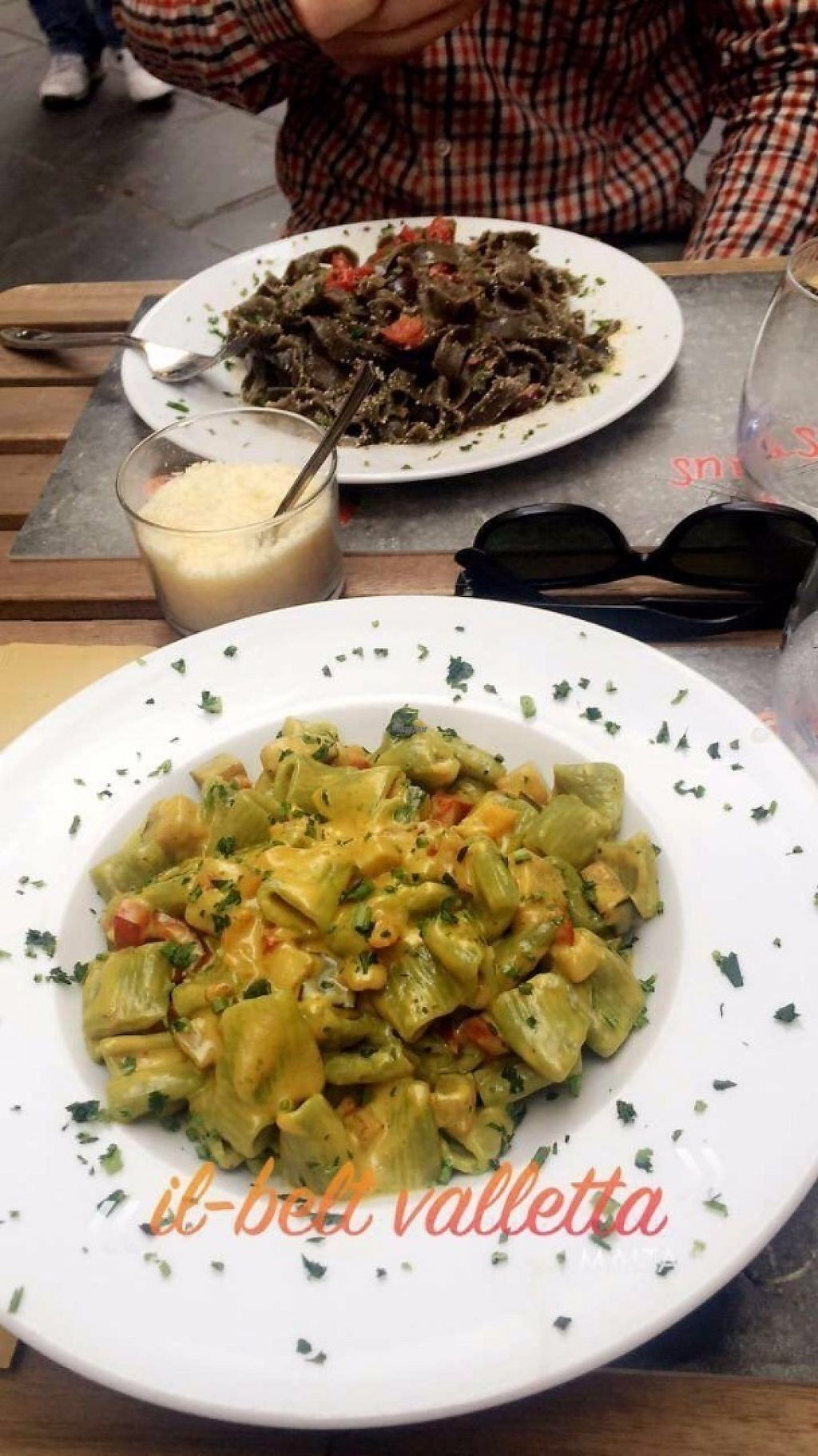 """Photo of Pastaus  by <a href=""""/members/profile/PlanetJanet"""">PlanetJanet</a> <br/>Pasta made from spinach with vegetal curry cream <br/> April 3, 2017  - <a href='/contact/abuse/image/89414/244442'>Report</a>"""