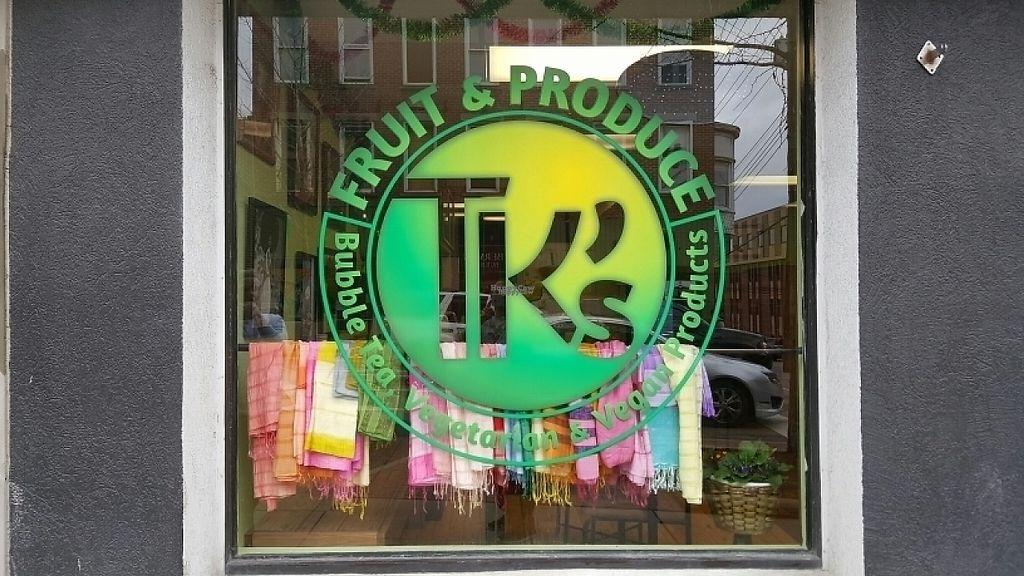 "Photo of TK's Fruits Produce Bubble Tea  by <a href=""/members/profile/davzanzibar"">davzanzibar</a> <br/>entrance  <br/> March 30, 2017  - <a href='/contact/abuse/image/89429/242641'>Report</a>"