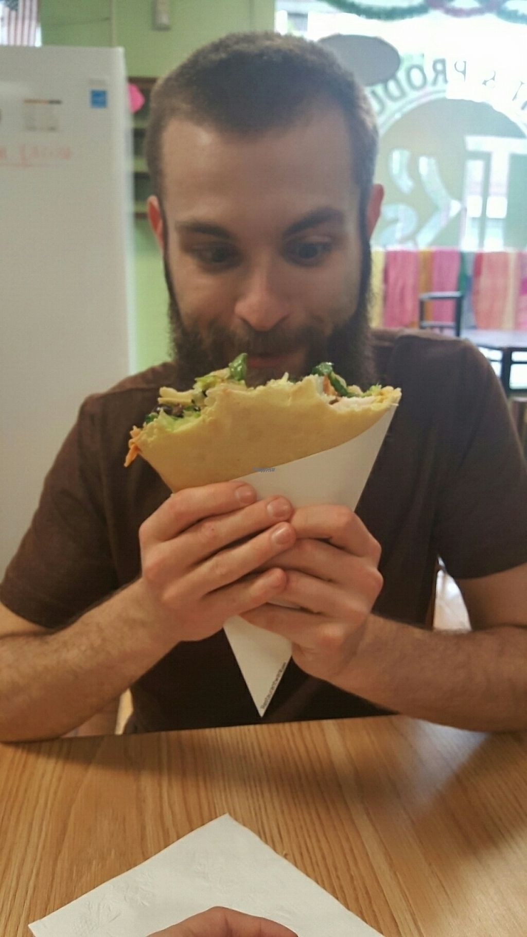"""Photo of TK's Fruits Produce Bubble Tea  by <a href=""""/members/profile/BekahLeigh"""">BekahLeigh</a> <br/>Yummy Crepes! <br/> April 21, 2017  - <a href='/contact/abuse/image/89429/250440'>Report</a>"""