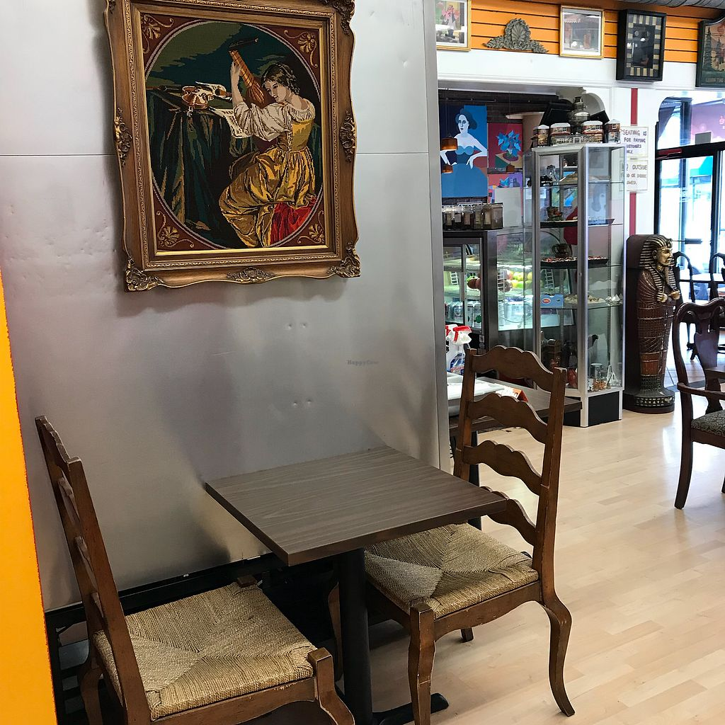 """Photo of In House Cafe  by <a href=""""/members/profile/Sarah%20P"""">Sarah P</a> <br/>Table for two <br/> December 24, 2017  - <a href='/contact/abuse/image/89431/338852'>Report</a>"""