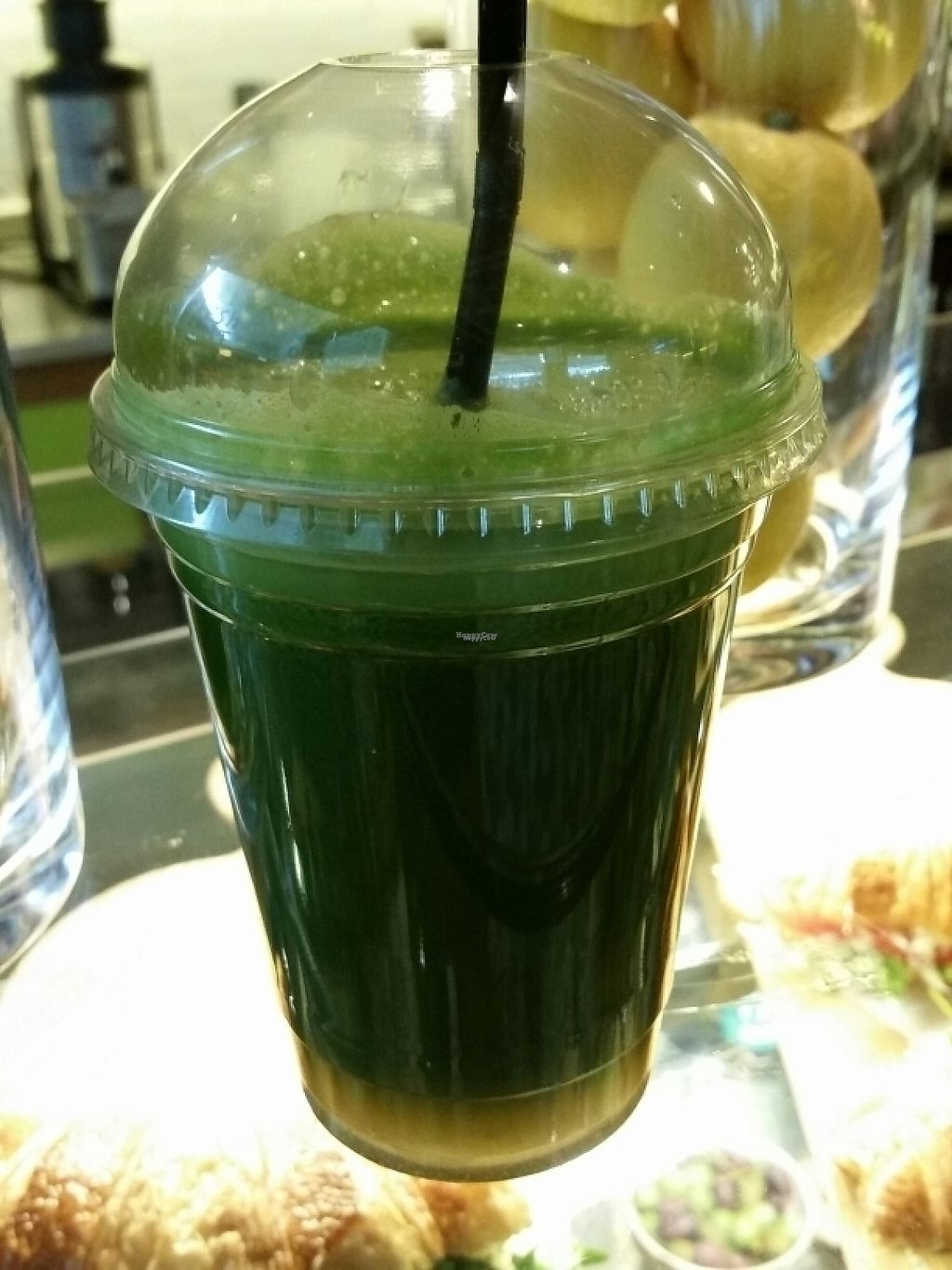 """Photo of WonderTree  by <a href=""""/members/profile/eric"""">eric</a> <br/>canyon greens Apple kale celery lemon ginger <br/> April 10, 2017  - <a href='/contact/abuse/image/89433/246672'>Report</a>"""