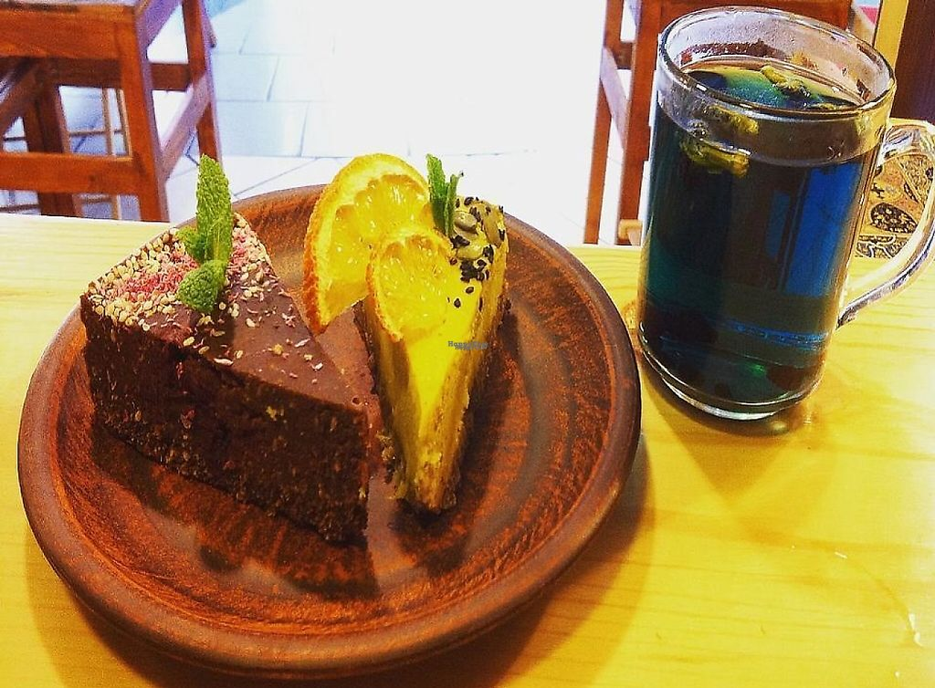 """Photo of Anahata Fine Food   by <a href=""""/members/profile/ANAHATAFineFood"""">ANAHATAFineFood</a> <br/>Raw chokolat cake and best herbal teas  <br/> March 30, 2017  - <a href='/contact/abuse/image/89451/243867'>Report</a>"""