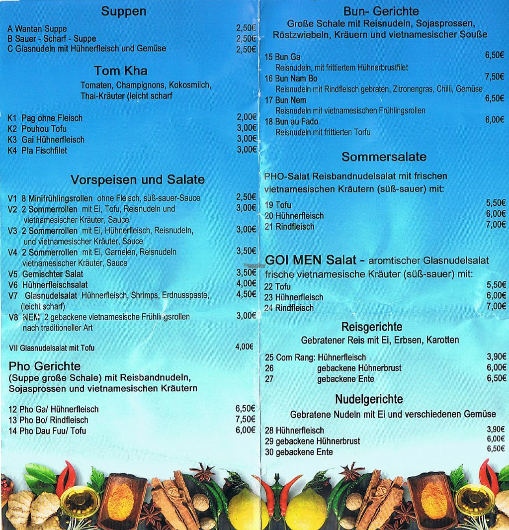 """Photo of Schiffe Bistro  by <a href=""""/members/profile/Lalwine"""">Lalwine</a> <br/>Menu <br/> March 30, 2017  - <a href='/contact/abuse/image/89467/242618'>Report</a>"""