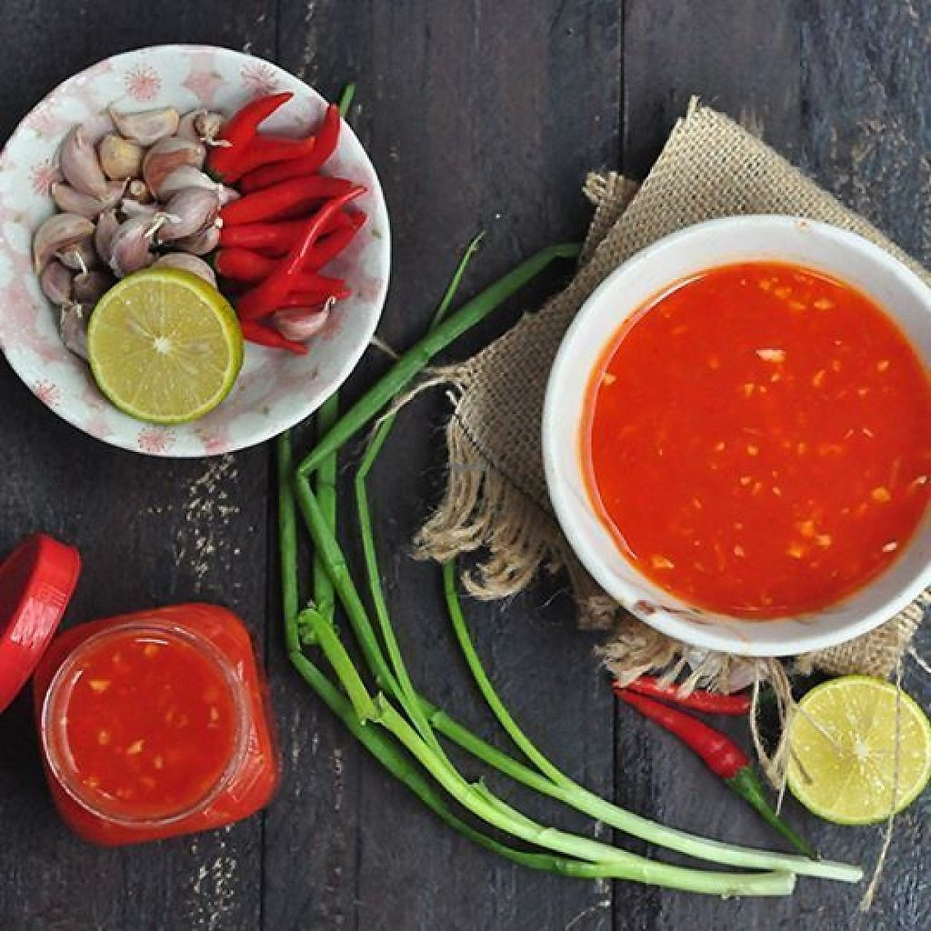"""Photo of Bep Lut Macrobiotic Kitchen  by <a href=""""/members/profile/gann26"""">gann26</a> <br/>homemade chilli sauce <br/> March 30, 2017  - <a href='/contact/abuse/image/89480/242500'>Report</a>"""