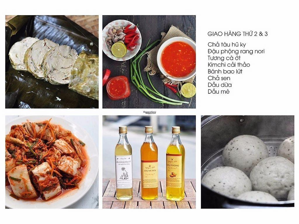"Photo of Bep Lut Macrobiotic Kitchen  by <a href=""/members/profile/gann26"">gann26</a> <br/>bean curd ham - chilli sauce - kimchi - coconut/sesame/peanut oil - dumpling <br/> March 30, 2017  - <a href='/contact/abuse/image/89480/242501'>Report</a>"