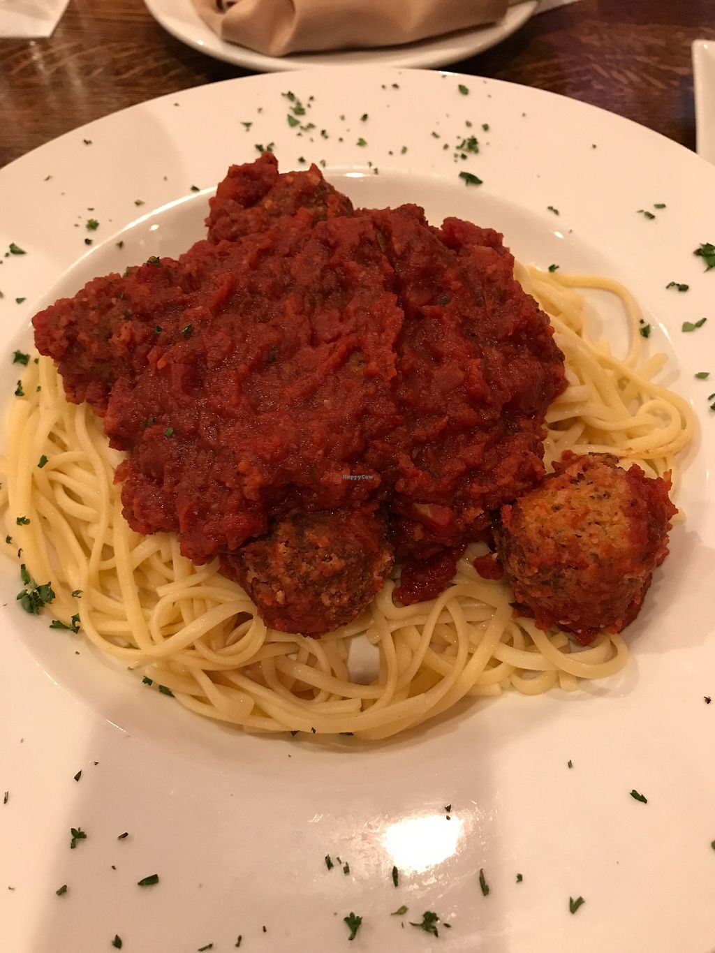 """Photo of Montero's Restaurant & Bar  by <a href=""""/members/profile/angelcrowe"""">angelcrowe</a> <br/>Linguini and meatball dish <br/> July 30, 2017  - <a href='/contact/abuse/image/89509/286869'>Report</a>"""