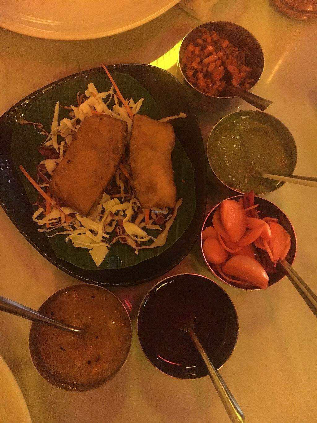 """Photo of Baba's Kitchen  by <a href=""""/members/profile/caitlincee"""">caitlincee</a> <br/>the complimentary starter <br/> July 12, 2017  - <a href='/contact/abuse/image/89513/279351'>Report</a>"""