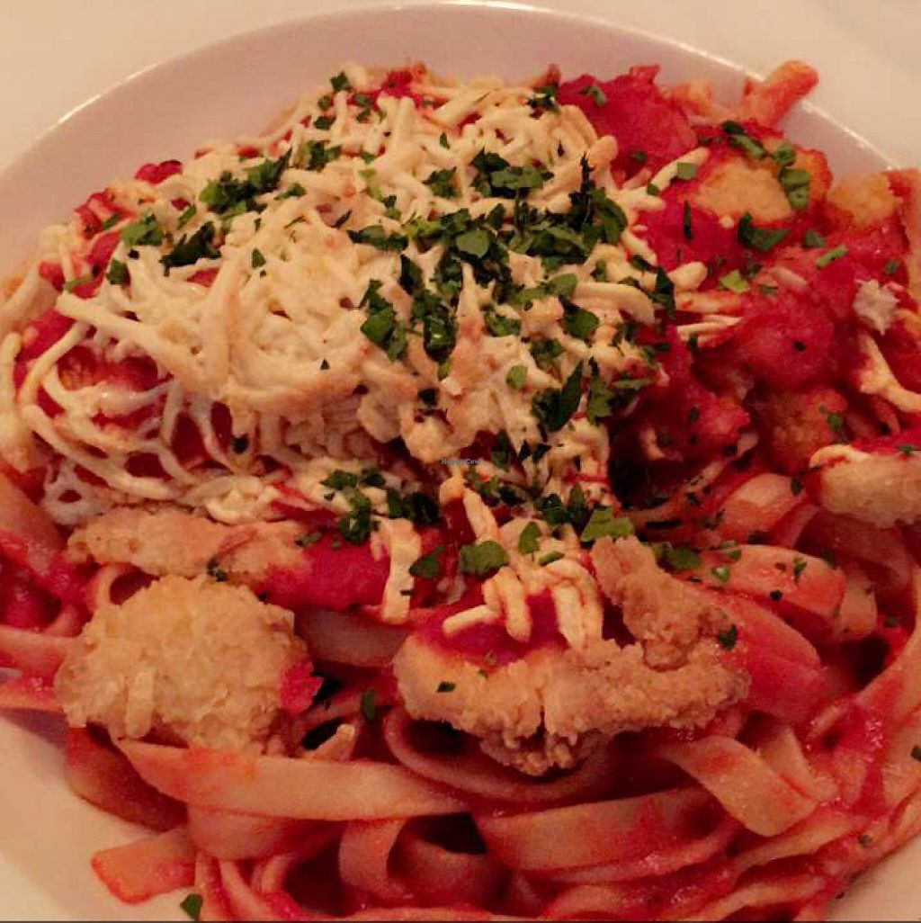 "Photo of Kitchen 519  by <a href=""/members/profile/alexajmorales"">alexajmorales</a> <br/>vegan chicken parm.  <br/> June 2, 2017  - <a href='/contact/abuse/image/89547/264943'>Report</a>"