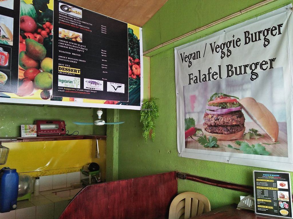 """Photo of Pauls's Magic - Vegan Veggie Snacks  by <a href=""""/members/profile/blanko00001"""">blanko00001</a> <br/>Renovation is real el nido veggie burger and vegan <br/> December 14, 2017  - <a href='/contact/abuse/image/89570/335413'>Report</a>"""