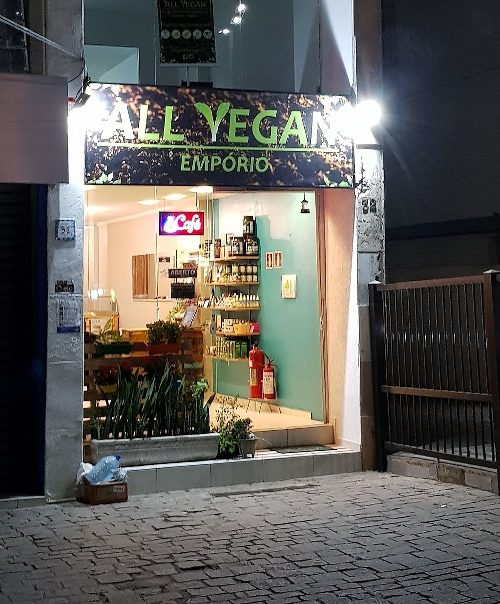 """Photo of ALL Vegan  by <a href=""""/members/profile/TatianaSaito"""">TatianaSaito</a> <br/>front door <br/> August 2, 2017  - <a href='/contact/abuse/image/89572/288087'>Report</a>"""