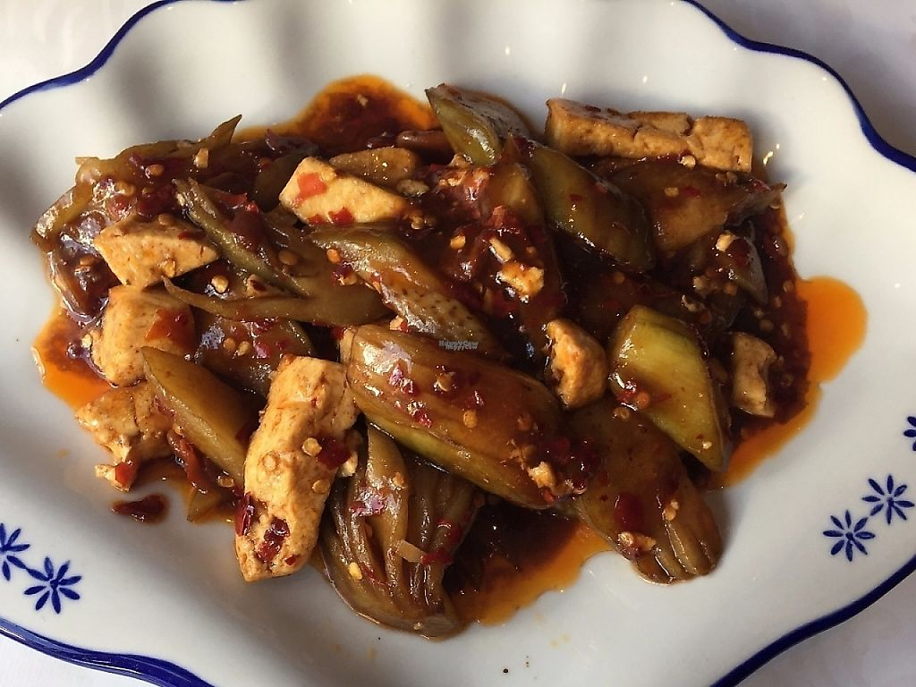"""Photo of Peony  by <a href=""""/members/profile/Pons"""">Pons</a> <br/>Stir-fried tofu with eggplant <br/> April 2, 2017  - <a href='/contact/abuse/image/89626/246139'>Report</a>"""