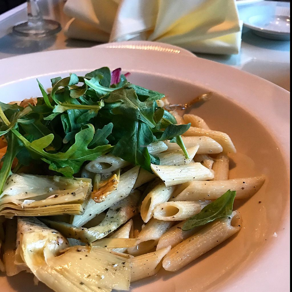 "Photo of Primavista  by <a href=""/members/profile/LeahLenore"">LeahLenore</a> <br/>Penne with Artichoke <br/> June 20, 2017  - <a href='/contact/abuse/image/89637/271238'>Report</a>"