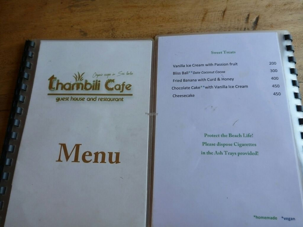 """Photo of Thambili Cafe  by <a href=""""/members/profile/barbicanben"""">barbicanben</a> <br/>menu sweets <br/> April 3, 2017  - <a href='/contact/abuse/image/89641/244369'>Report</a>"""