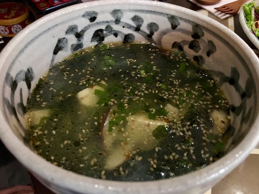 """Photo of The Organik House  by <a href=""""/members/profile/rtiago"""">rtiago</a> <br/>Miso soup <br/> January 7, 2018  - <a href='/contact/abuse/image/89675/343917'>Report</a>"""