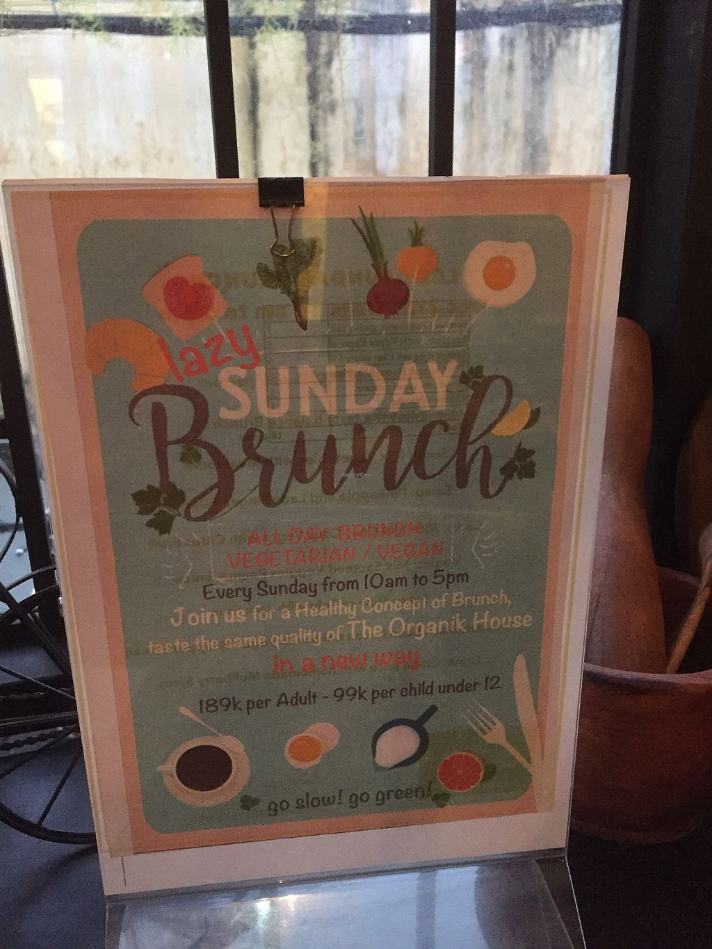 """Photo of The Organik House  by <a href=""""/members/profile/SusanRoberts"""">SusanRoberts</a> <br/>Sunday Brunch <br/> January 7, 2018  - <a href='/contact/abuse/image/89675/343929'>Report</a>"""