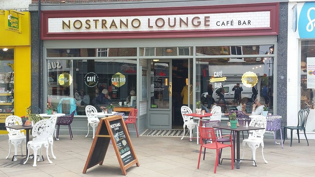 """Photo of Nostrano Lounge  by <a href=""""/members/profile/jollypig"""">jollypig</a> <br/>Outside <br/> May 7, 2017  - <a href='/contact/abuse/image/89692/256851'>Report</a>"""