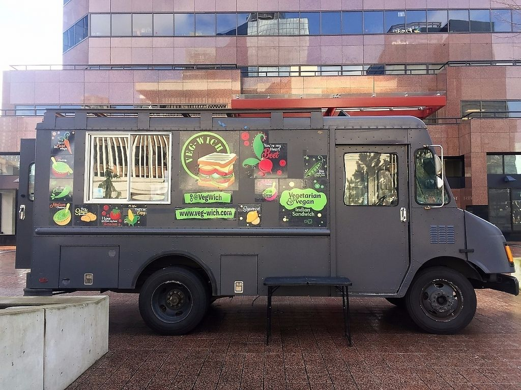 """Photo of Veg Wich - Food Truck  by <a href=""""/members/profile/Gayatree.c%40gmail.com"""">Gayatree.c@gmail.com</a> <br/>The truck  <br/> April 3, 2017  - <a href='/contact/abuse/image/89704/244259'>Report</a>"""