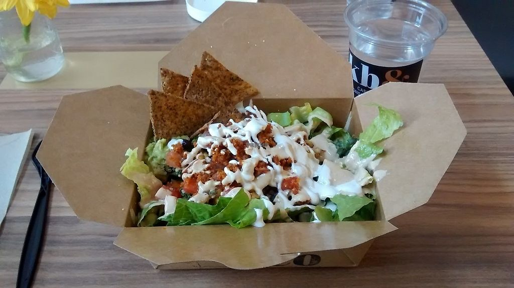 """Photo of kb&co  by <a href=""""/members/profile/the_vegbrarian"""">the_vegbrarian</a> <br/>Chipotle taco salad <br/> April 26, 2017  - <a href='/contact/abuse/image/89718/252839'>Report</a>"""