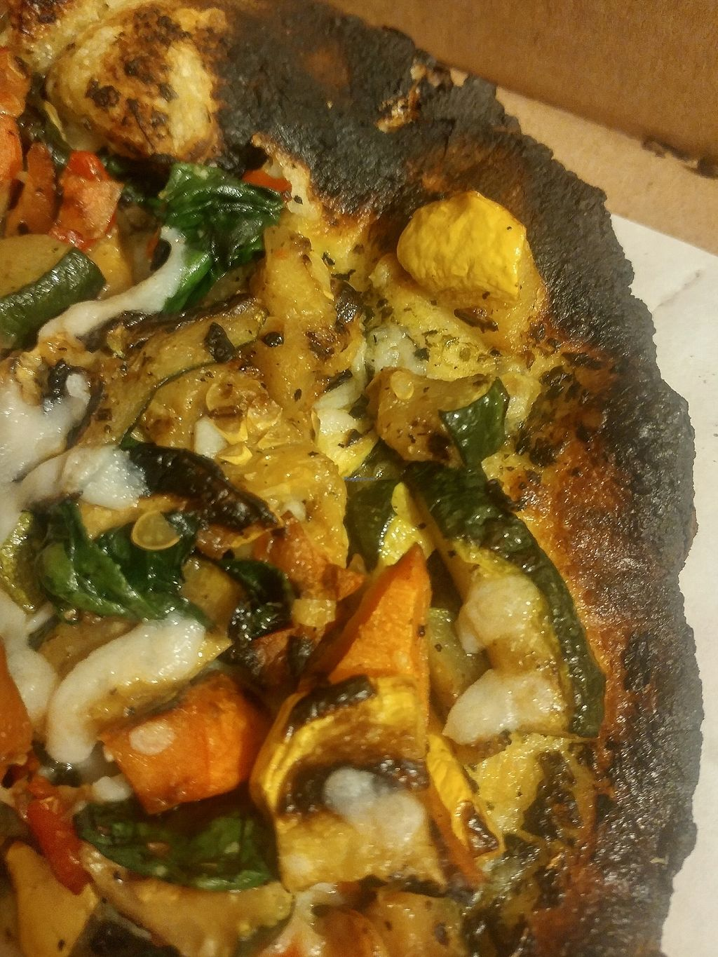 "Photo of Pazzo Wood Fired Pizza  by <a href=""/members/profile/SkepticalVegetables"">SkepticalVegetables</a> <br/>Traditional Vegan Woodfired Pizza <br/> March 2, 2018  - <a href='/contact/abuse/image/89719/365561'>Report</a>"