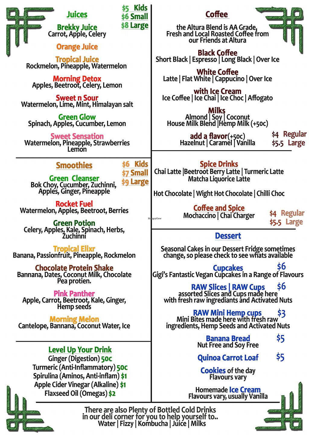 """Photo of The Lost Deli  by <a href=""""/members/profile/TheLostDeli"""">TheLostDeli</a> <br/>Drinks Menu <br/> March 3, 2018  - <a href='/contact/abuse/image/89723/366003'>Report</a>"""