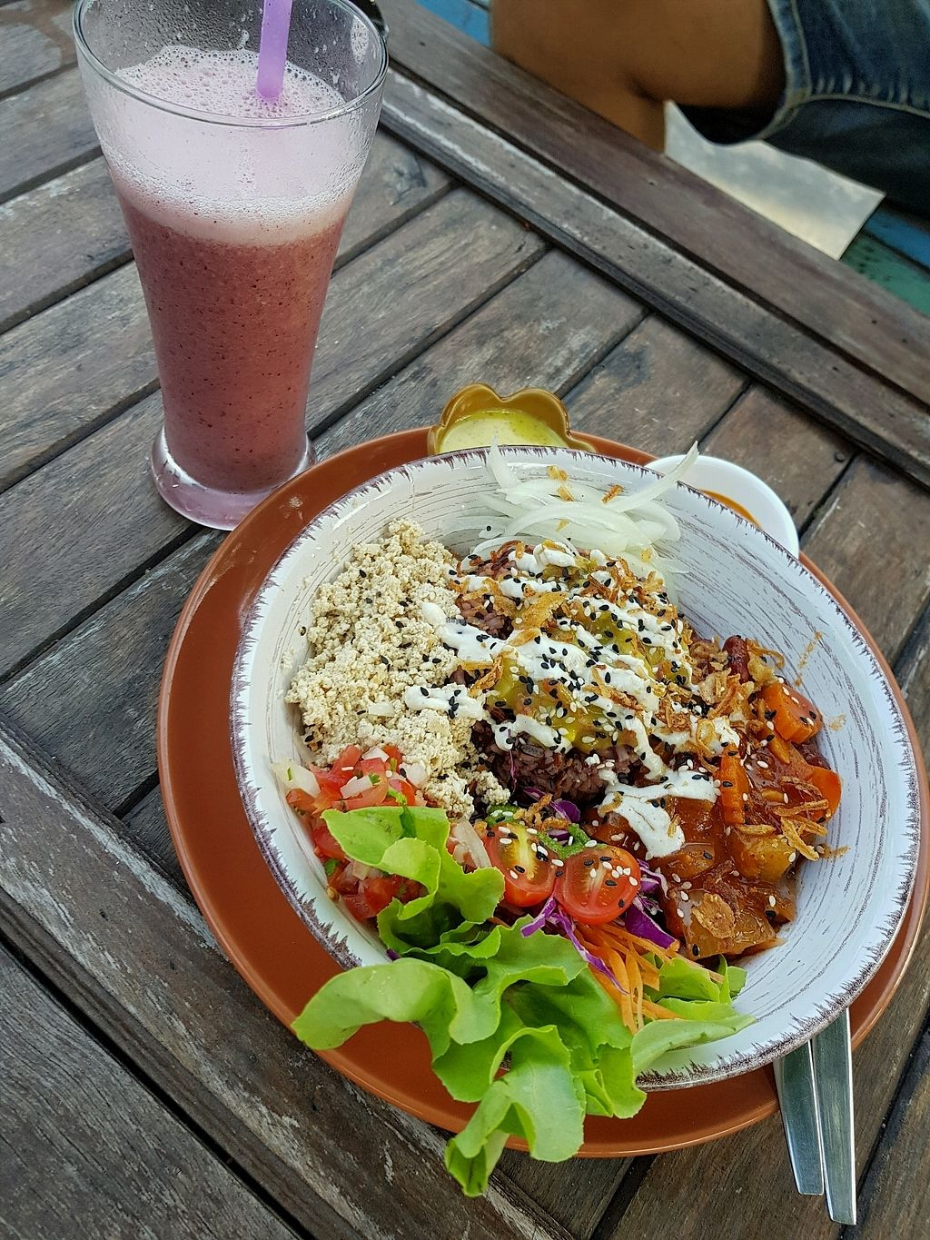 "Photo of Pure Vegan Heaven  by <a href=""/members/profile/NilsKahle"">NilsKahle</a> <br/>great healthy food <br/> October 10, 2017  - <a href='/contact/abuse/image/89736/314087'>Report</a>"