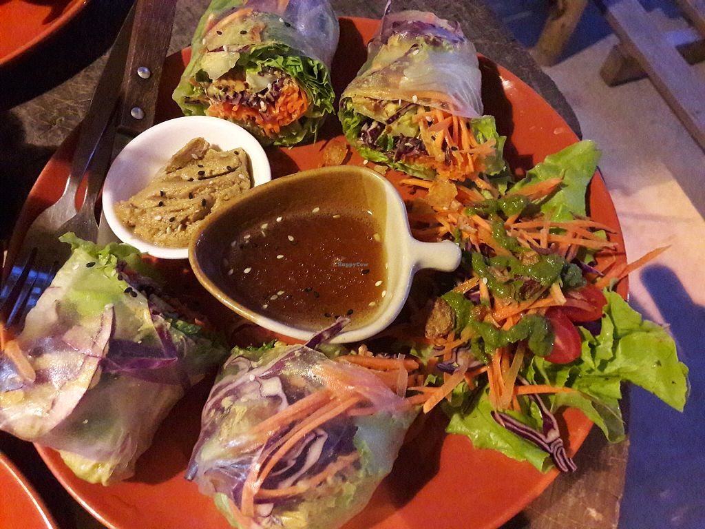 "Photo of Pure Vegan Heaven  by <a href=""/members/profile/Charly0993"">Charly0993</a> <br/>Summer rolls <br/> February 5, 2018  - <a href='/contact/abuse/image/89736/355464'>Report</a>"