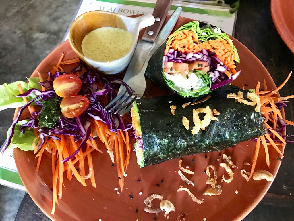 "Photo of Pure Vegan Heaven  by <a href=""/members/profile/AllieK."">AllieK.</a> <br/>Veggie wrap  <br/> March 22, 2018  - <a href='/contact/abuse/image/89736/374281'>Report</a>"