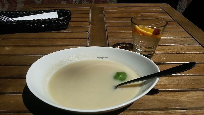 """Photo of Tel Aviv Urban Food  - Mokotow  by <a href=""""/members/profile/Micha%C5%82Altawil"""">MichałAltawil</a> <br/>creme soup  <br/> June 21, 2017  - <a href='/contact/abuse/image/89763/271777'>Report</a>"""