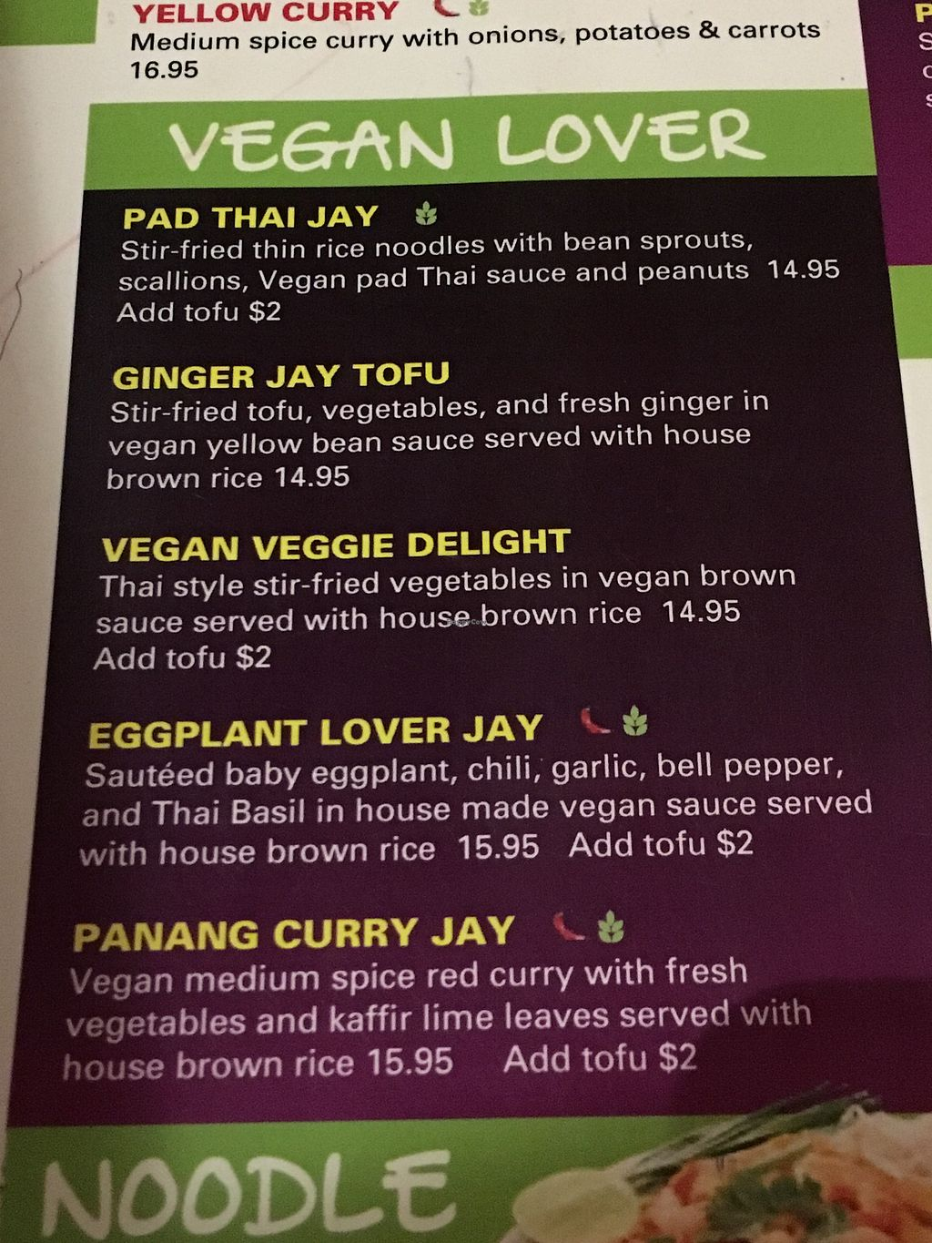 """Photo of Bangkok Happy Bowl  by <a href=""""/members/profile/Annebumble"""">Annebumble</a> <br/>Menu April '18 <br/> April 15, 2018  - <a href='/contact/abuse/image/89786/386074'>Report</a>"""