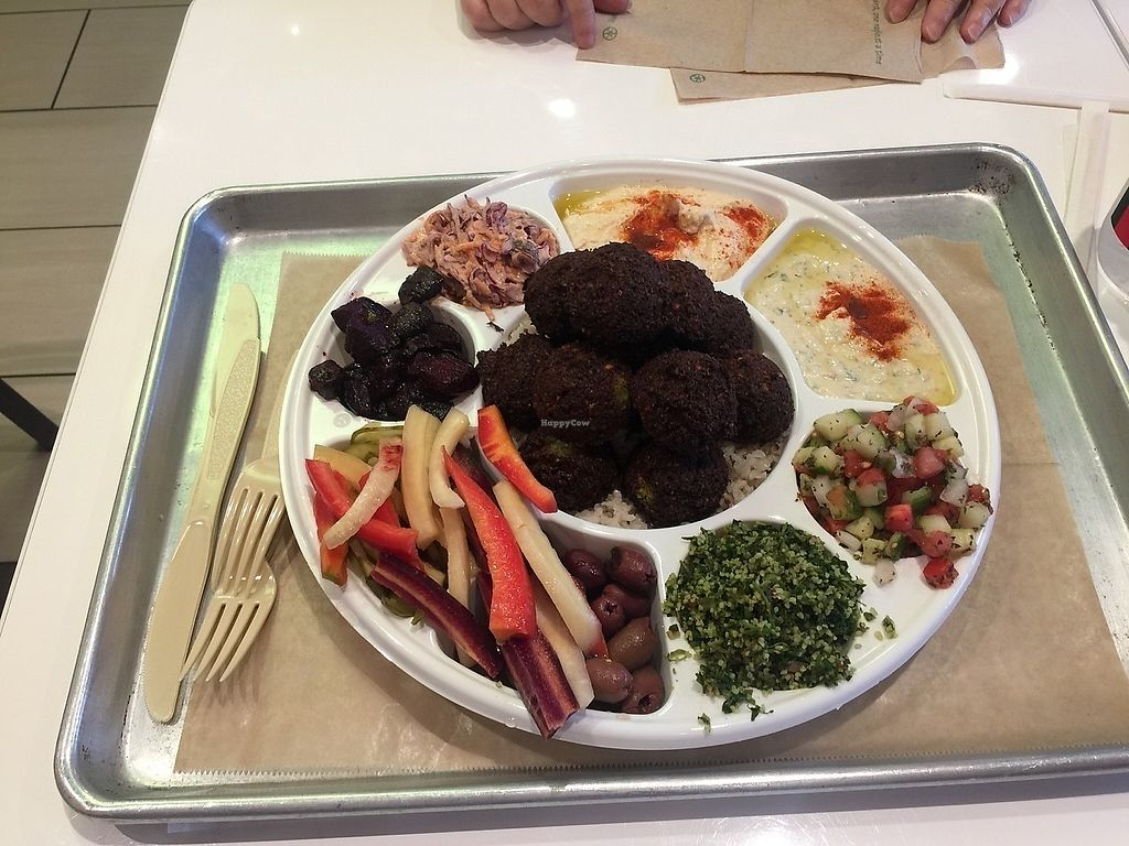 "Photo of Ibby's Mediterranean  by <a href=""/members/profile/noseriously"">noseriously</a> <br/>The Falafel Thali Platter <br/> September 22, 2017  - <a href='/contact/abuse/image/89793/306959'>Report</a>"