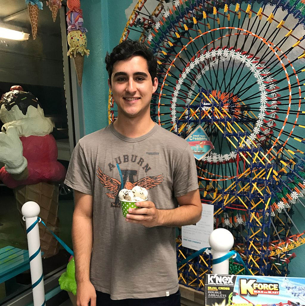 """Photo of Small Town Creamery  by <a href=""""/members/profile/JaneEngelke"""">JaneEngelke</a> <br/>5 days in a row! He loves our Vegan Ice Cream ! <br/> April 6, 2017  - <a href='/contact/abuse/image/89810/245126'>Report</a>"""